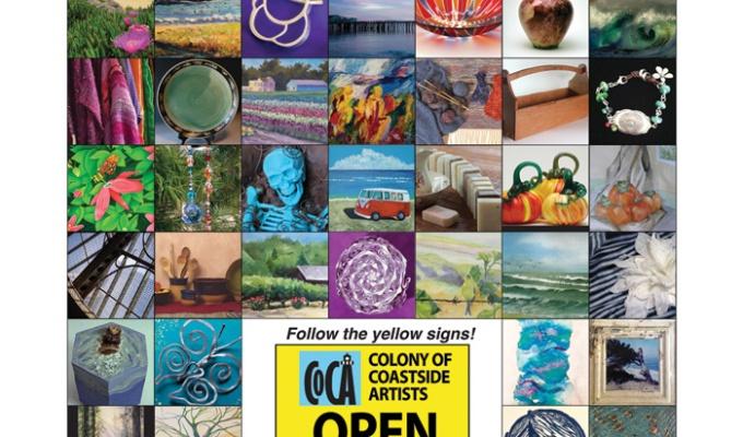 COCA Open Art Studios Nov 19 &2o