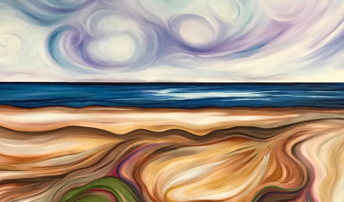 Half Moon Bay Summer – SOLD