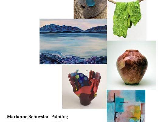 FIRST WEEKENDS ART SHOW: Feb 4 & 5 in beautiful Miramar,  Half MoonBay