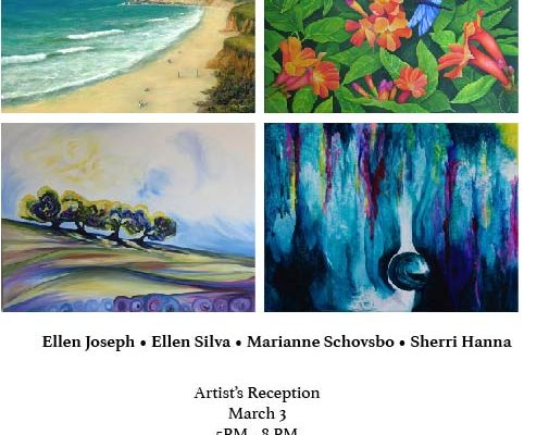 Another First Week-End ART Show   In Miramar, Half Moon Bay March 3-5