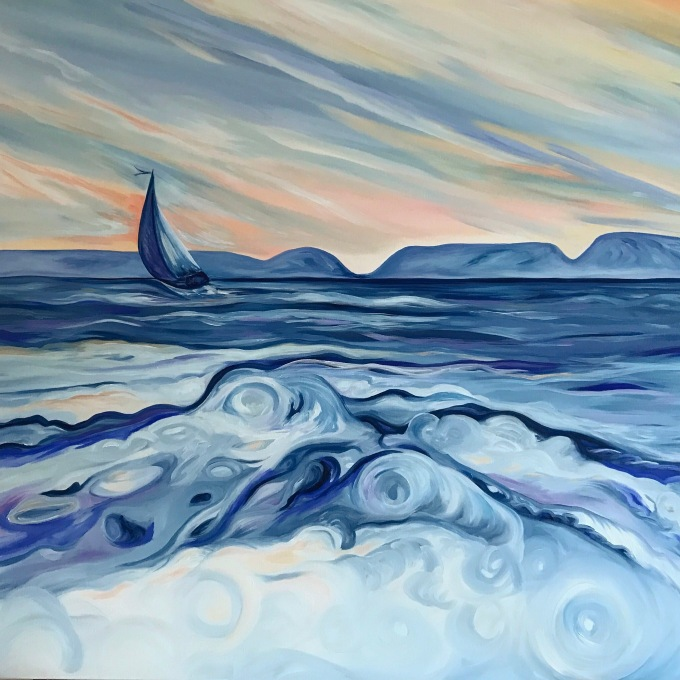 Heading Out After The Storm – SOLD