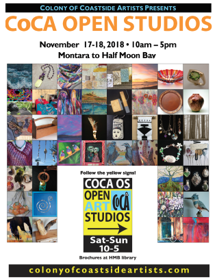 CoCA Open Art Studios Nov 17 & 18