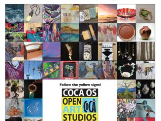 CoCA Open Art Studios Nov 17 &18